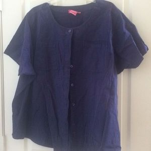 Ladies woman within blouse 2x